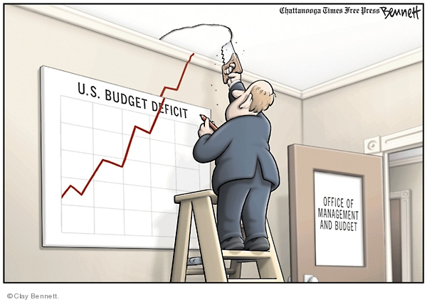 Why compare Japan with Latam and Zimbabwe? Why not with USA, China and Germany which is more like in Japanese class! (Cartoonist - Clay Bennett,  from Clay Bennett's Editorial Cartoons; courtesy - cartoonistgroup.com.). Click for larger image.