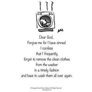 Comic Strip Anne Morse Hambrock  Anne and God 2016-02-19 forgive