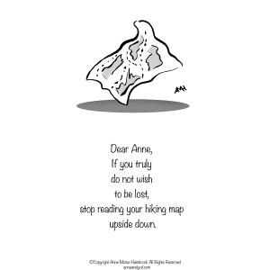 Comic Strip Anne Morse Hambrock  Anne and God 2021-05-05 Morse