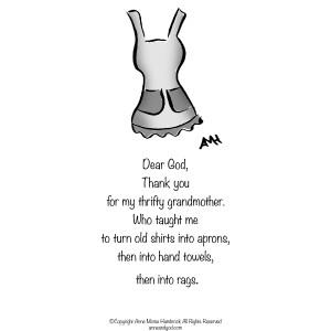 Comic Strip Anne Morse Hambrock  Anne and God 2021-03-22 Morse