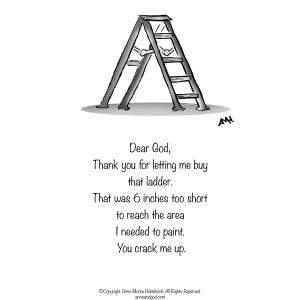 Comic Strip Anne Morse Hambrock  Anne and God 2021-03-12 Morse
