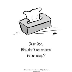 Comic Strip Anne Morse Hambrock  Anne and God 2021-02-22 Morse