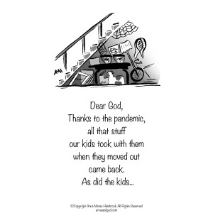 Comic Strip Anne Morse Hambrock  Anne and God 2020-11-09 Morse