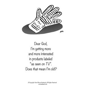 Comic Strip Anne Morse Hambrock  Anne and God 2020-11-06 Morse