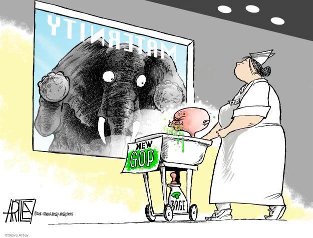 Steve Artley  Steve Artley's Editorial Cartoons 2016-03-14 voter frustration
