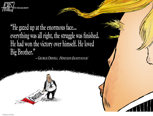 Cartoonist Steve Artley  Steve Artley's Editorial Cartoons 2016-02-04 book