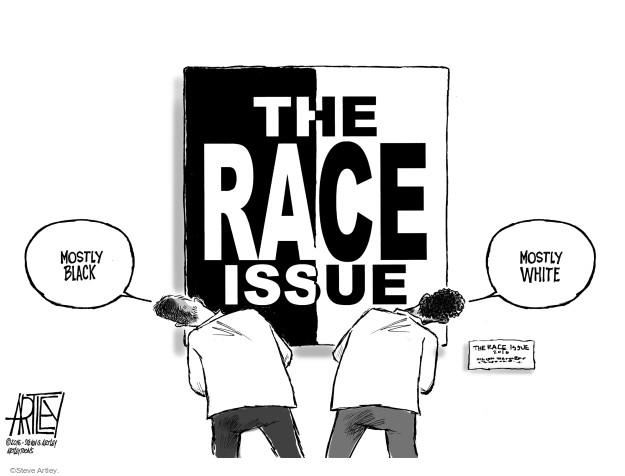 Steve Artley  Steve Artley's Editorial Cartoons 2016-02-25 racism