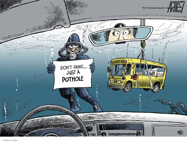 Steve Artley  Steve Artley's Editorial Cartoons 2014-03-06 infrastructure