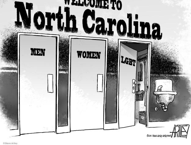 Cartoonist Steve Artley  Steve Artley's Editorial Cartoons 2016-03-25 sexual