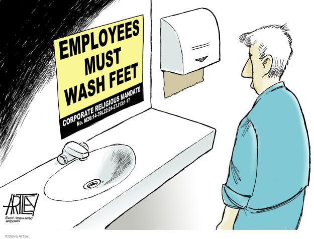 Steve Artley  Steve Artley's Editorial Cartoons 2014-07-02 freedom