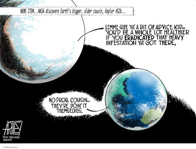 Steve Artley  Steve Artley's Editorial Cartoons 2015-07-24 environment