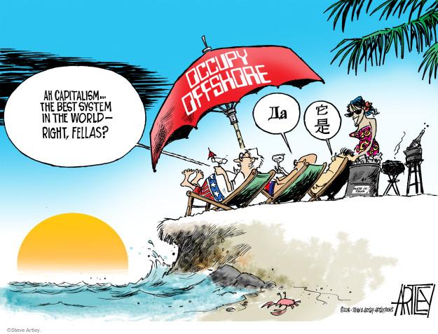 Steve Artley  Steve Artley's Editorial Cartoons 2016-04-05 corruption