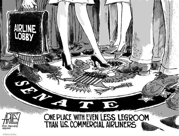 Cartoonist Steve Artley  Steve Artley's Editorial Cartoons 2016-04-08 lobby