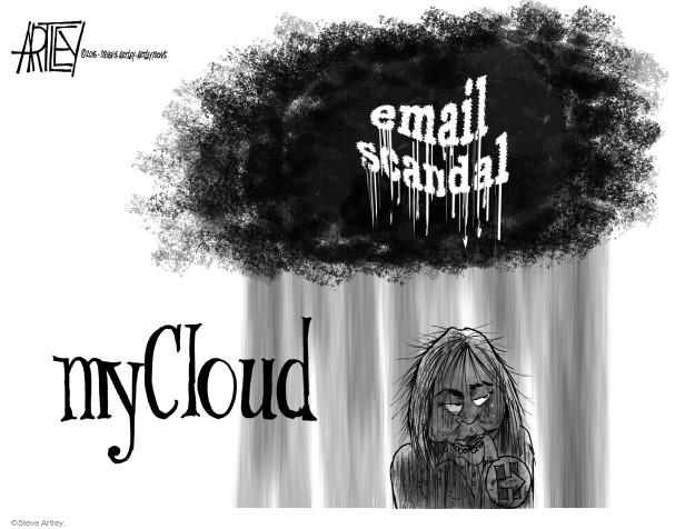Cartoonist Steve Artley  Steve Artley's Editorial Cartoons 2016-05-30 state election
