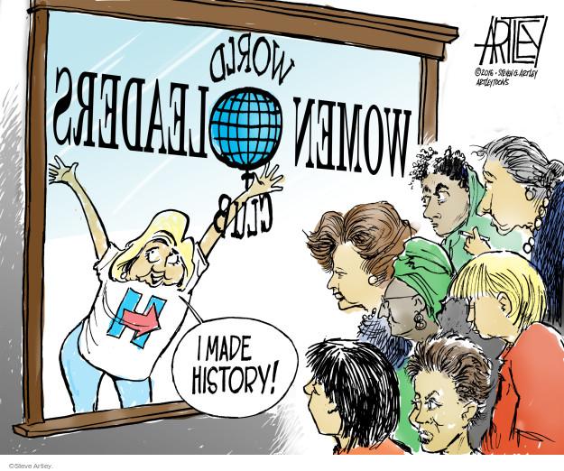 Cartoonist Steve Artley  Steve Artley's Editorial Cartoons 2016-06-07 state election