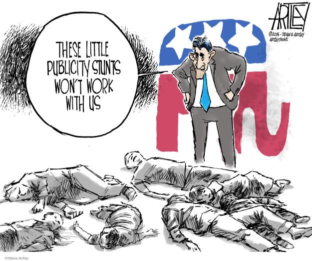 Cartoonist Steve Artley  Steve Artley's Editorial Cartoons 2016-06-23 gun rights