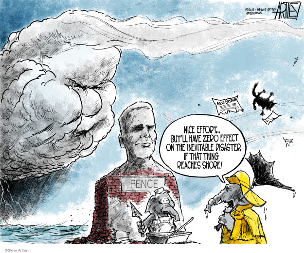 Steve Artley  Steve Artley's Editorial Cartoons 2016-07-15 Steve