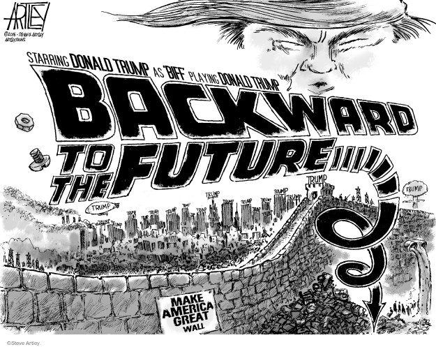 Steve Artley  Steve Artley's Editorial Cartoons 2016-08-04 racism