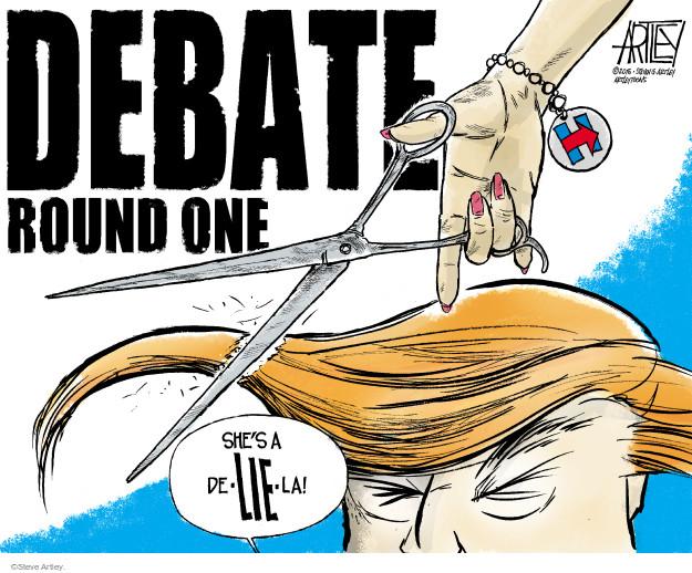 Cartoonist Steve Artley  Steve Artley's Editorial Cartoons 2016-09-26 republican candidate