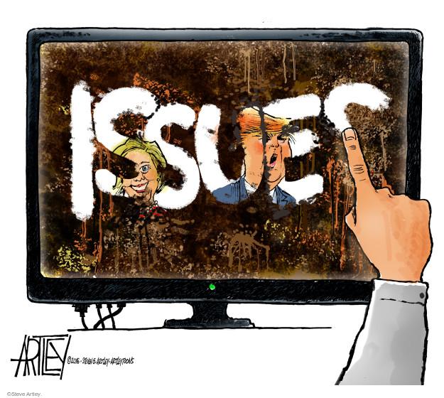 Steve Artley  Steve Artley's Editorial Cartoons 2016-10-20 candidate