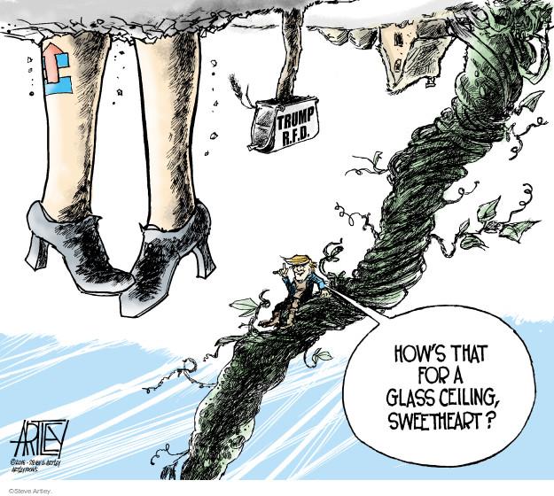 Steve Artley  Steve Artley's Editorial Cartoons 2016-11-09 candidate