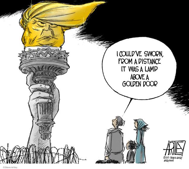 Cartoonist Steve Artley  Steve Artley's Editorial Cartoons 2017-01-31 national