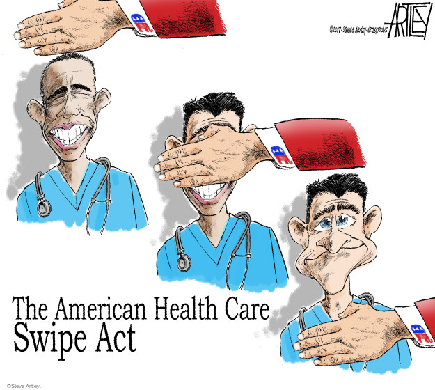 The American Health Care Swipe Act.