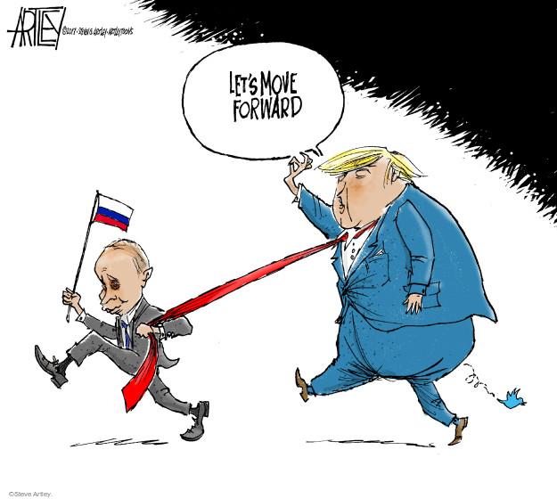 Steve Artley  Steve Artley's Editorial Cartoons 2017-07-11 international relations