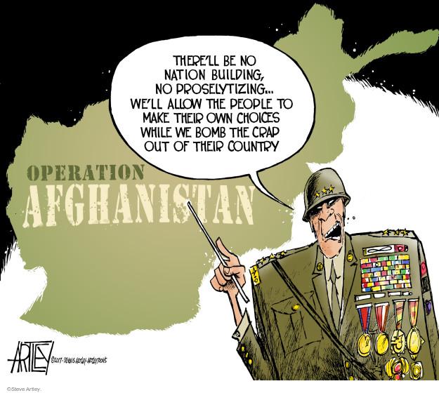 Cartoonist Steve Artley  Steve Artley's Editorial Cartoons 2017-08-24 Obama terrorism