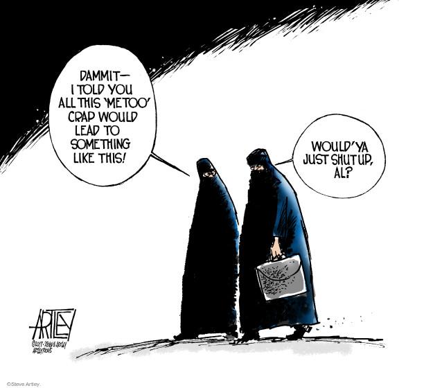 Cartoonist Steve Artley  Steve Artley's Editorial Cartoons 2017-11-27 sexual