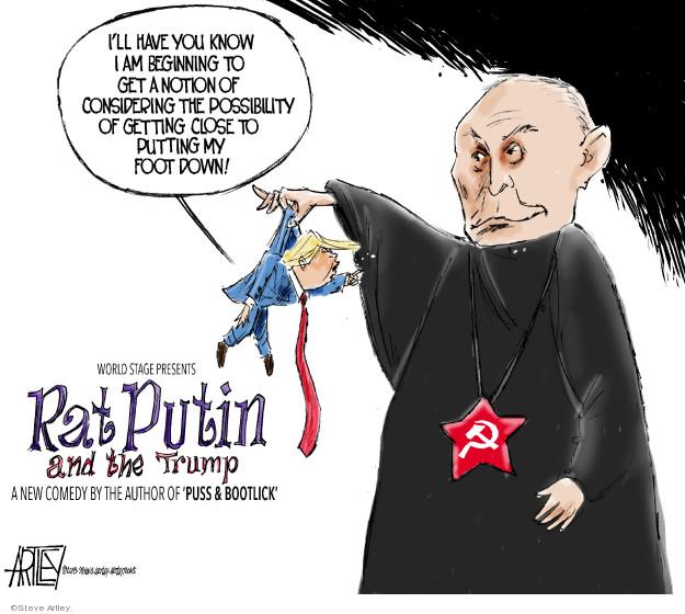Cartoonist Steve Artley  Steve Artley's Editorial Cartoons 2018-03-16 state