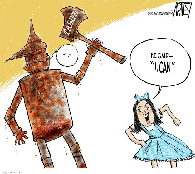 Steve Artley  Steve Artley's Editorial Cartoons 2018-06-04 international relations