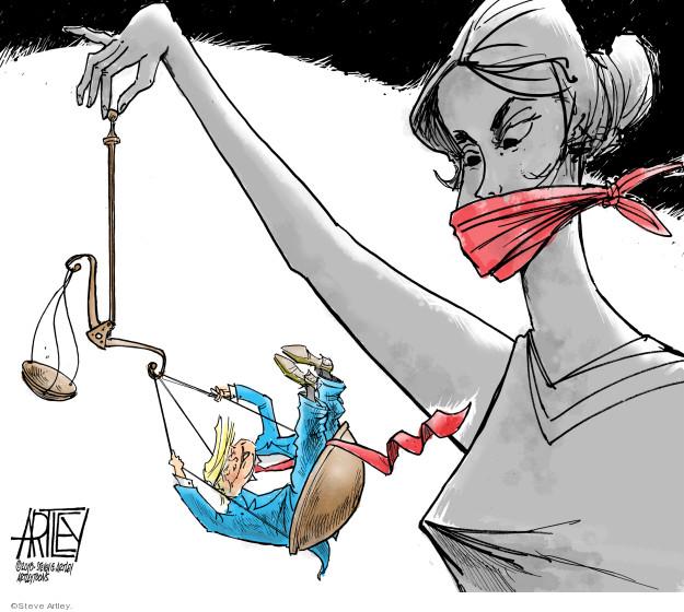 Cartoonist Steve Artley  Steve Artley's Editorial Cartoons 2018-06-18 rights