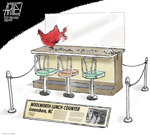 Steve Artley  Steve Artley's Editorial Cartoons 2018-06-26 1960s