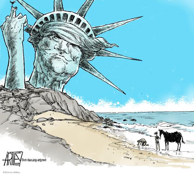 Cartoonist Steve Artley  Steve Artley's Editorial Cartoons 2018-06-27 national