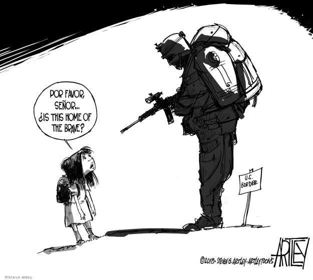Cartoonist Steve Artley  Steve Artley's Editorial Cartoons 2018-10-30 state