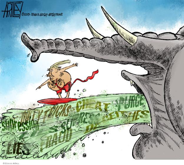 Cartoonist Steve Artley  Steve Artley's Editorial Cartoons 2018-11-14 2018 election