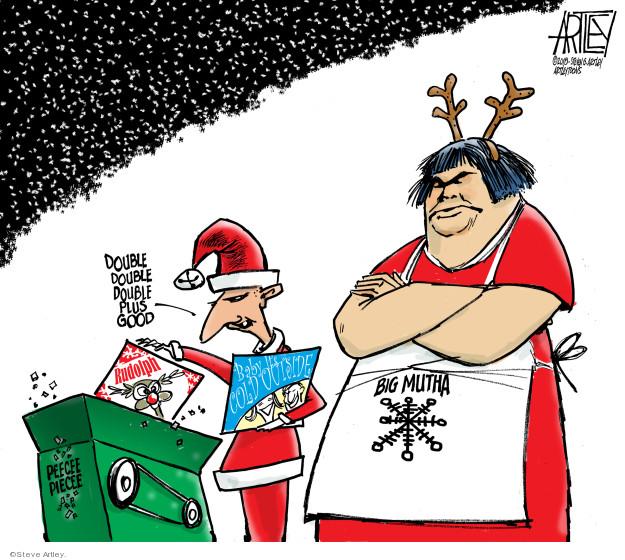 Cartoonist Steve Artley  Steve Artley's Editorial Cartoons 2018-12-12 good book