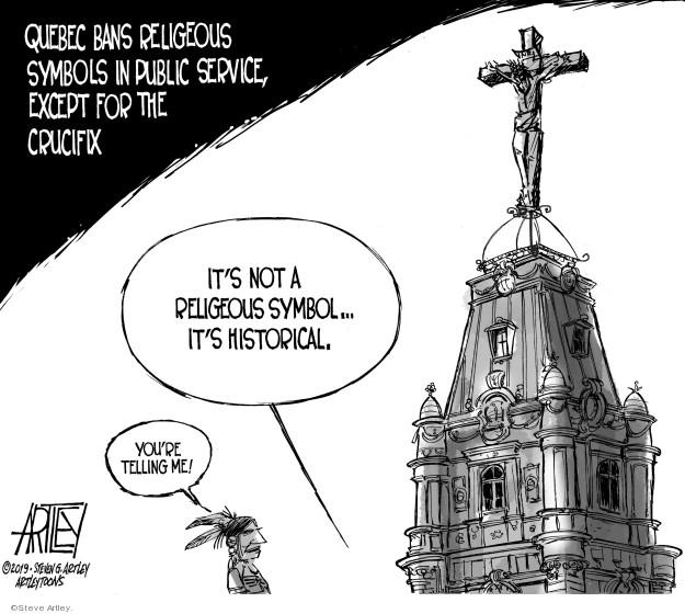 Steve Artley  Steve Artley's Editorial Cartoons 2019-06-18 freedom