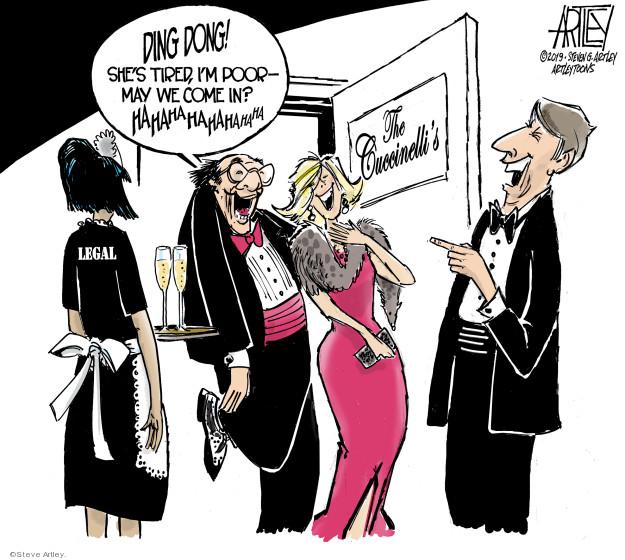 Cartoonist Steve Artley  Steve Artley's Editorial Cartoons 2019-08-15 administration