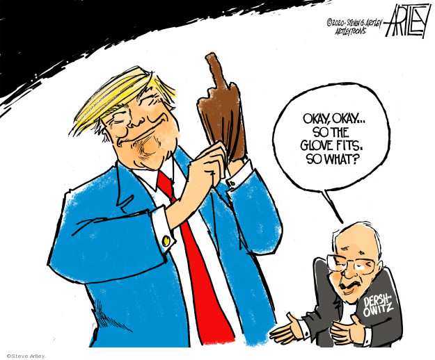 Steve Artley  Steve Artley's Editorial Cartoons 2020-01-29 Donald Trump