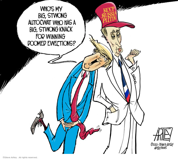 Steve Artley  Steve Artley's Editorial Cartoons 2020-07-03 Donald Trump