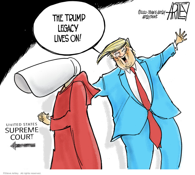 Steve Artley  Steve Artley's Editorial Cartoons 2020-09-24 Donald Trump