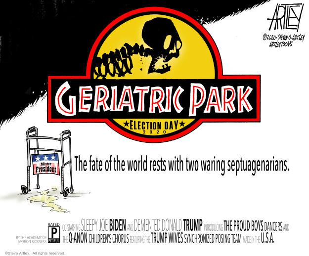 Steve Artley  Steve Artley's Editorial Cartoons 2020-10-31 movie