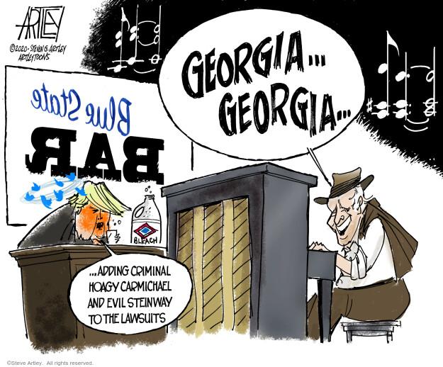 Steve Artley  Steve Artley's Editorial Cartoons 2020-11-06 politics