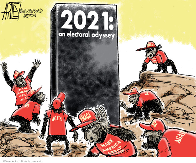 Steve Artley  Steve Artley's Editorial Cartoons 2020-11-09 movie