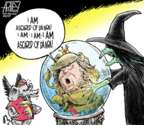 Cartoonist Steve Artley  Steve Artley's Editorial Cartoons 2018-03-12 Wizard of Oz