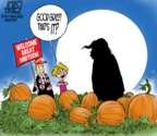 Cartoonist Steve Artley  Steve Artley's Editorial Cartoons 2018-10-31 Halloween