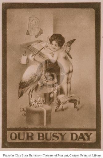 Cartoonist Ohio State Cartoon Library & Museum  Ohio State Cartoon Library & Museum 1907-00-00 Valentine's Day