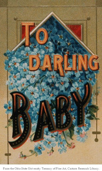 To Darling Baby.